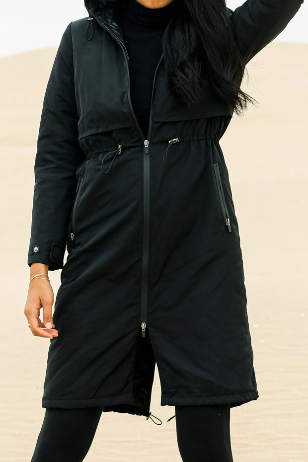 Toggle Anorak Trench