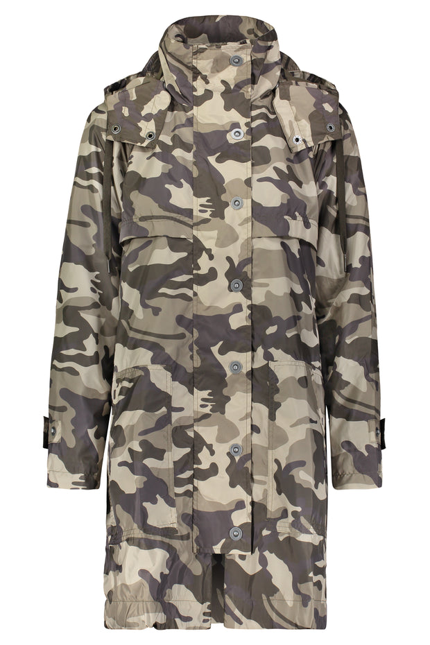 The Long Anorak Coated
