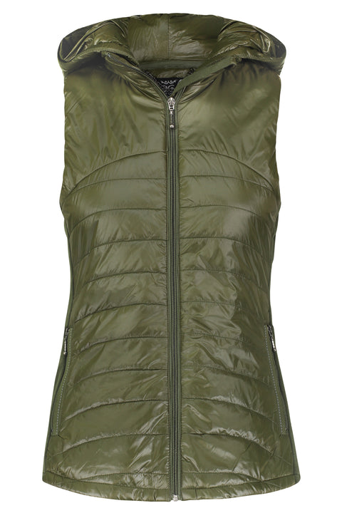 Hooded Down Vest