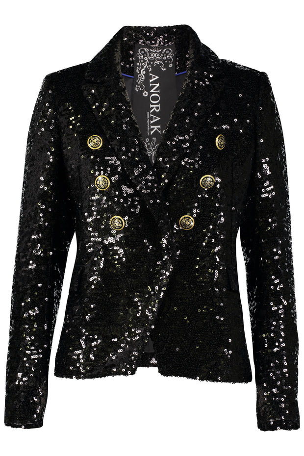 Sequin Blazer Jacket