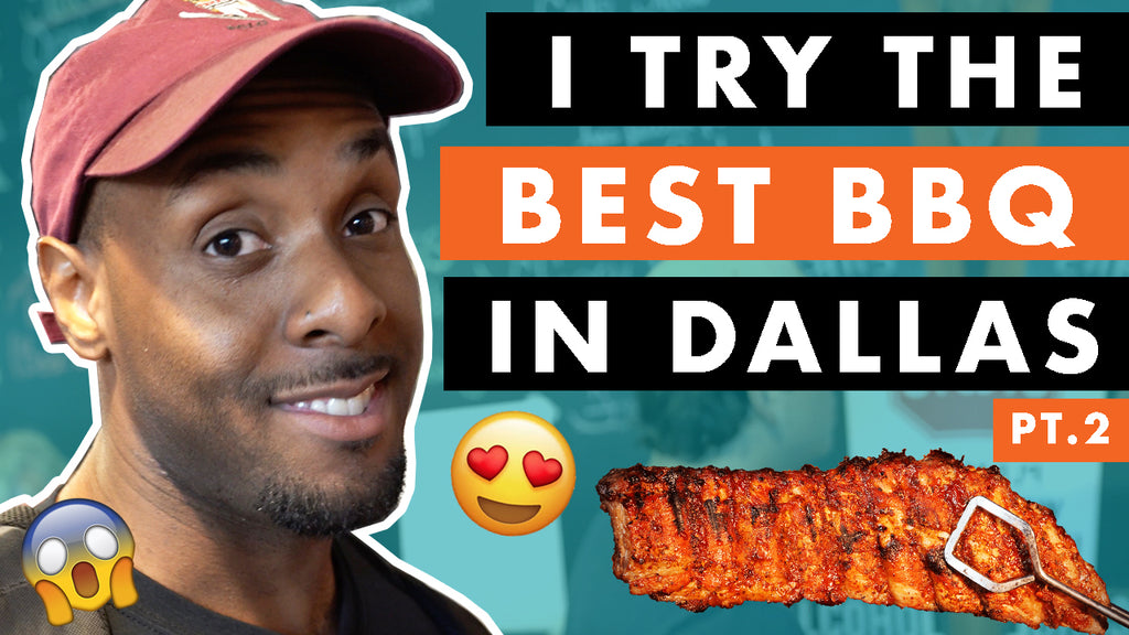 I Try The Best BBQ In Dallas Texas With Anderson Bluu pt.2