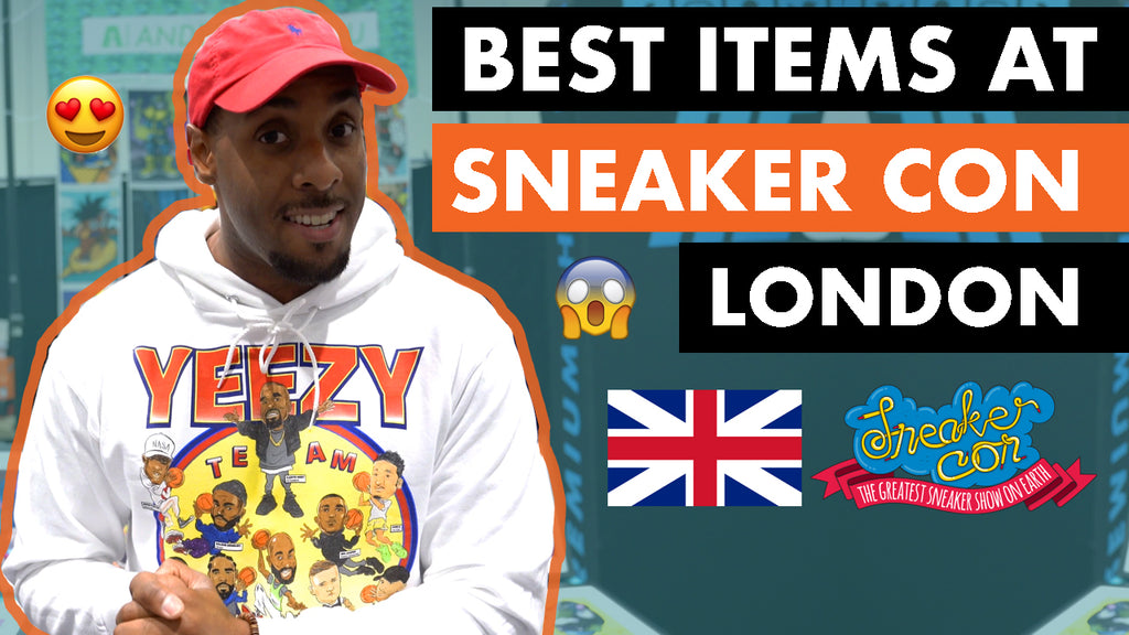 Sneaker Con London With Anderson Bluu