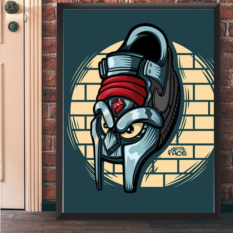 Metal Face Giclee Art Print 17 x 22 - Bluu Dreams
