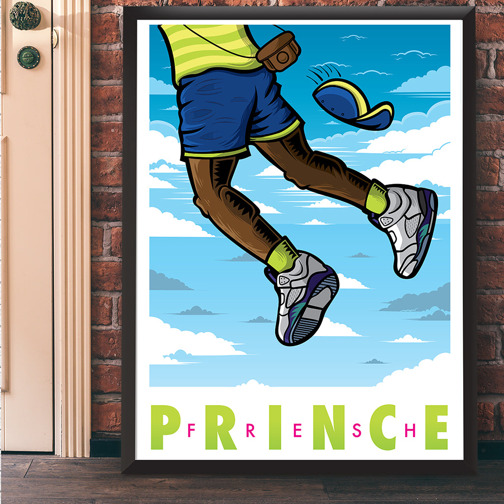 Fresh Prince Giclee Art Print 18 X 24 Bluu Dreams