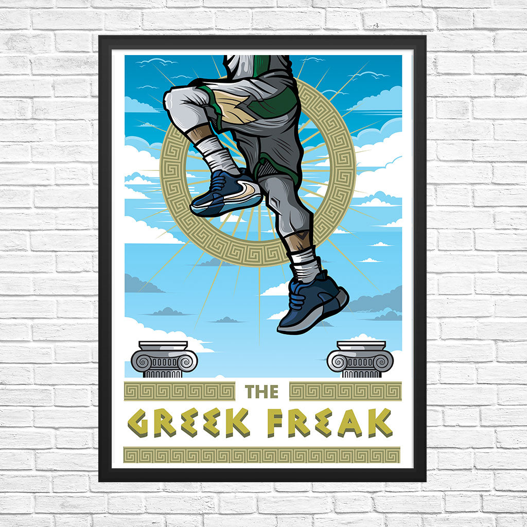 Greek Freak Giclee Art Print 13 x 19 - Bluu Dreams