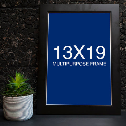13 x 19 Black Studio Picture Frame - Bluu Dreams