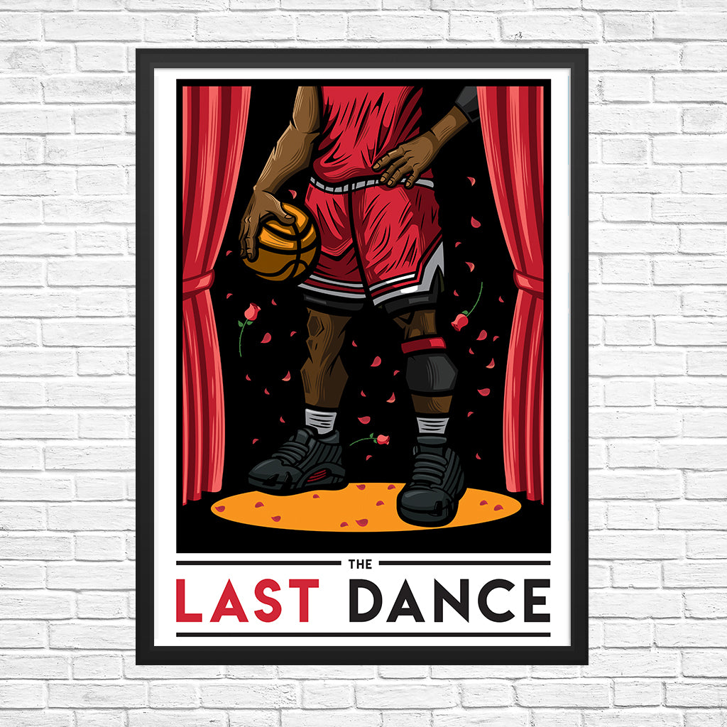 The Last Dance Giclee Art Print 13 x 19 - Anderson Bluu Sneaker Art