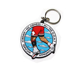 MJ Key Chain 2.5 x 2.5 - Anderson Bluu Sneaker Art