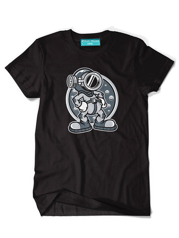 Steamboat Diver Black T-Shirt