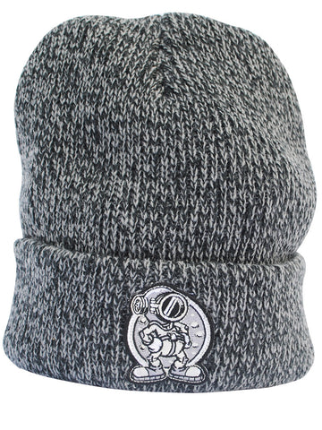 Steamboat Diver Beanie Black/Grey