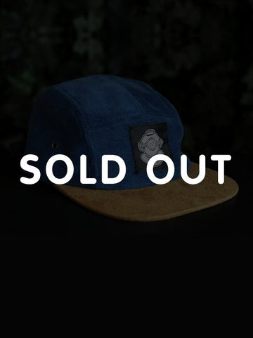 BLUU DREAMS CORDUROY 5 PANEL HAT