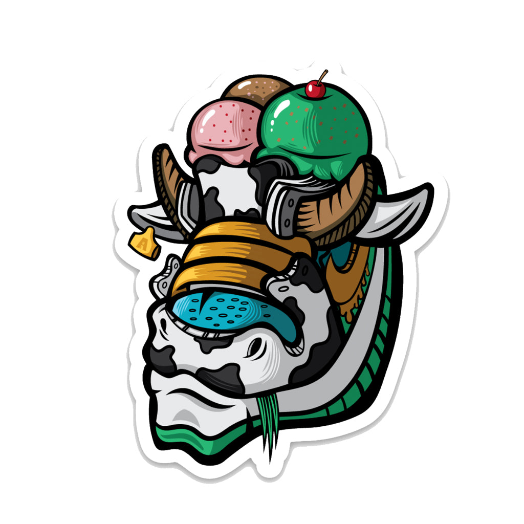 Chunky Dunky 3 x 3 Sticker - Bluu Dreams