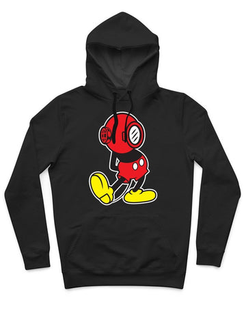 DIVER MOUSE PULL OVER HOODIE
