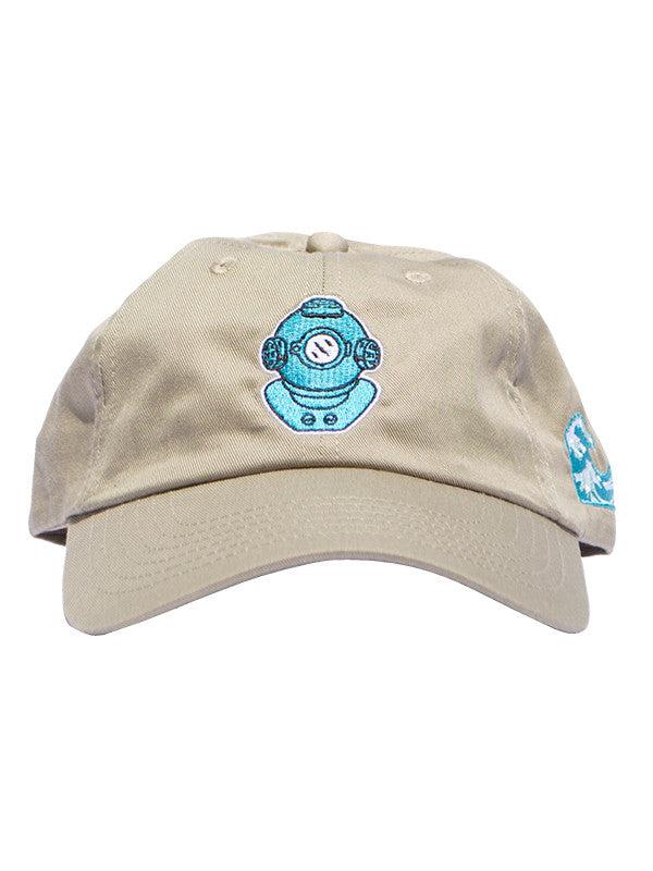 Khaki Bluu Dreams dad hat