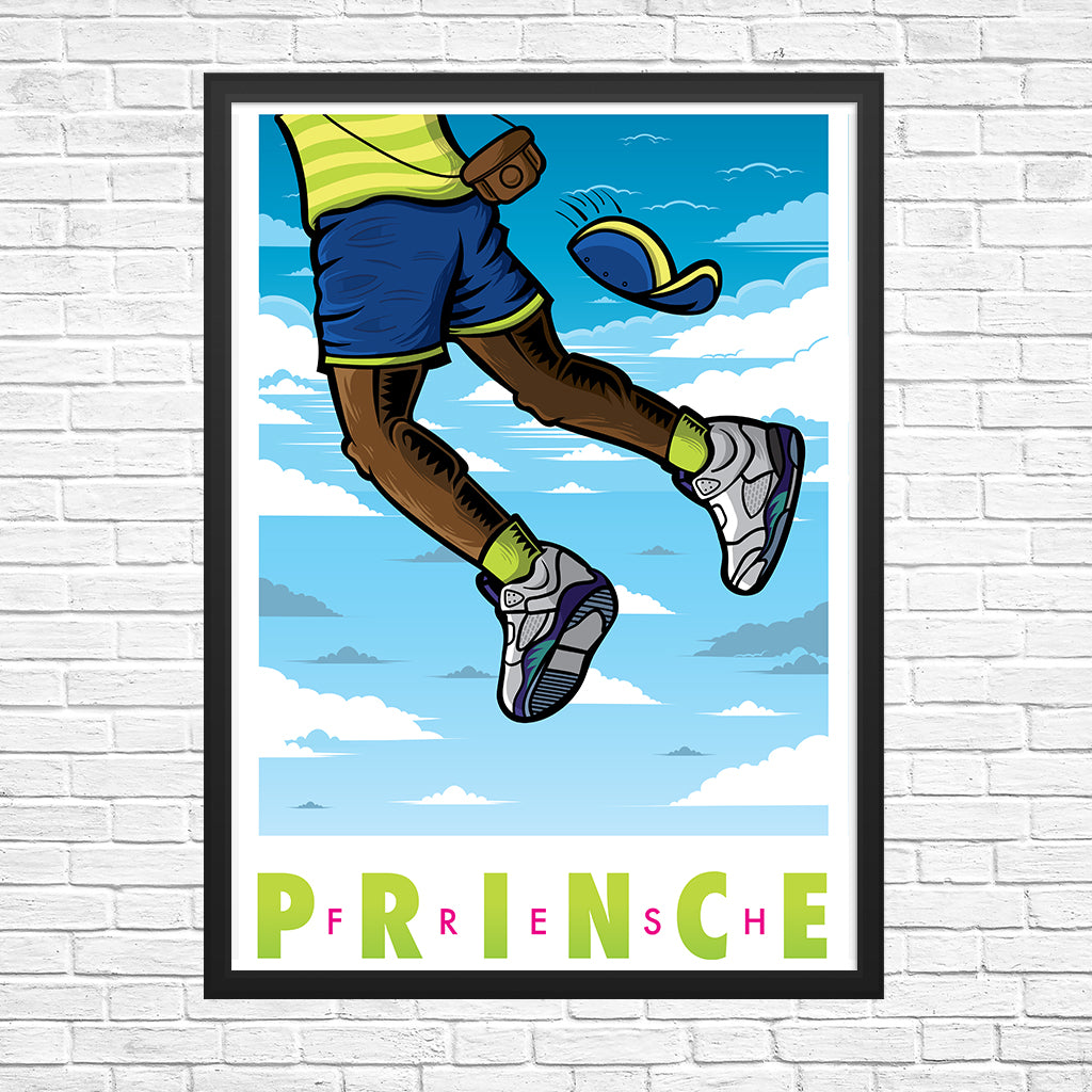 Fresh Prince Giclee Art Print 13 x 19 - Bluu Dreams