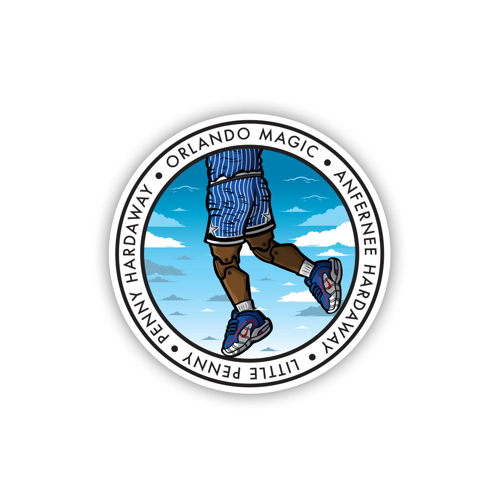 Little Penny 3 x 3 Sticker - Anderson Bluu Sneaker Art