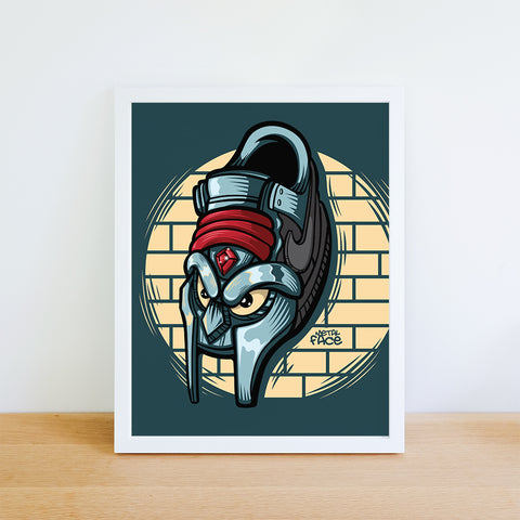 Metal Face Giclee Art Print 8.5 x 11 - Bluu Dreams