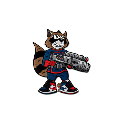 Rocket 3x3 Sticker