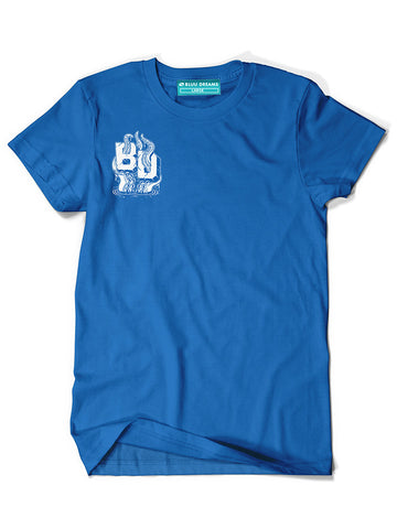 BD Octopus Royal Bluu T-Shirt