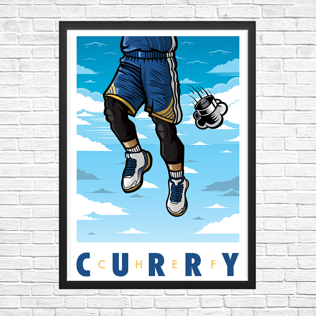 Chef Curry Giclee Art Print 13 x 19 - Bluu Dreams