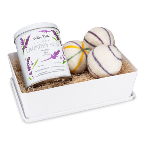 Laundry Soap & Wool Dryer Ball Set