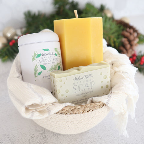 sustainable products gift set