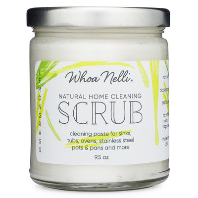 non-toxic cleaning product made with soap and baking soda