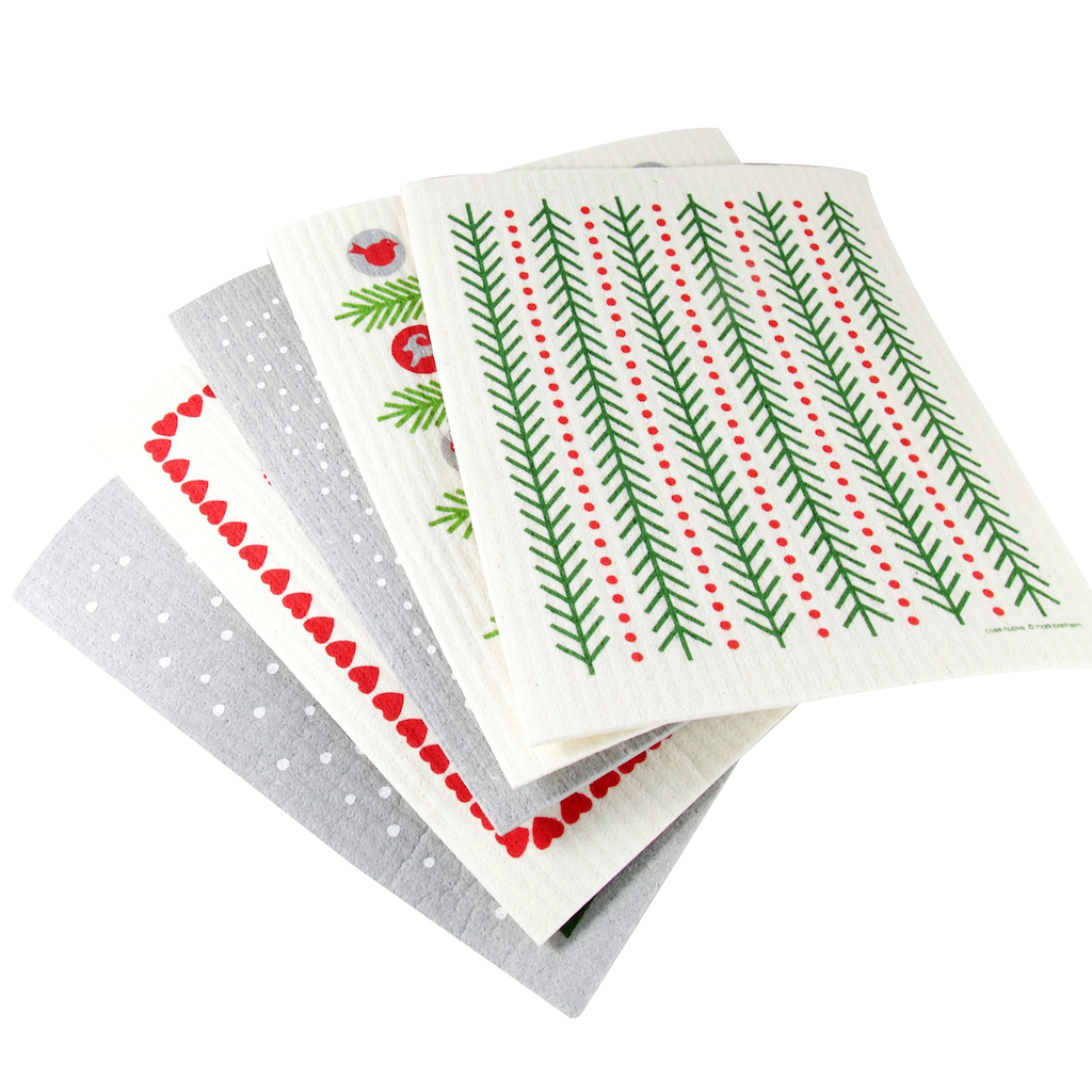 Holiday Swedish Dishcloths