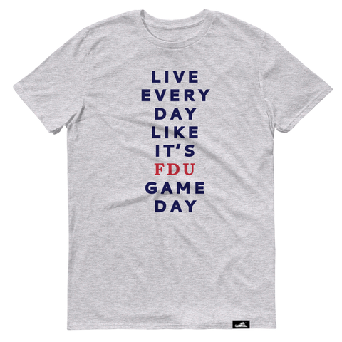 Custom Live Every Day Like It's Game Day T-shirt