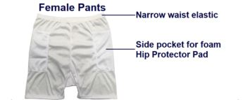 b33600dc2d1 The Hip Pad pockets are big enough to move the Hip Protector Pads (sold  separately) up or down