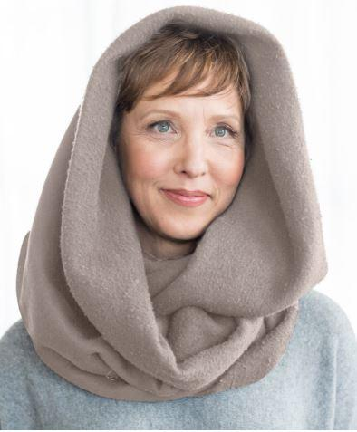 Accessories - The Wrapped-In-Love Snood - Companion In The Treatment Room.