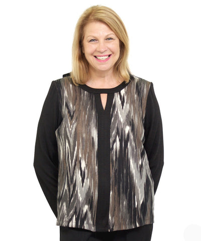 Blouses - Fashion Adaptive Top For Women - People With Disabilities