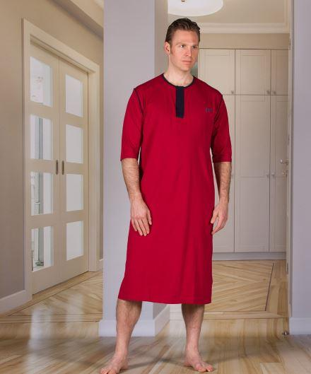 Bodysuits - Men's Nightshirt With An Open Back (Hospital Gown) (from Small To Xlarge)