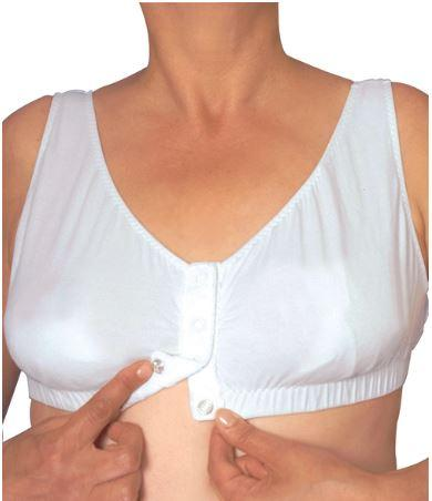 Bras - Easy On Snap Front Closure Bras - Front Opening Bras - Fits A Cup To D Cup