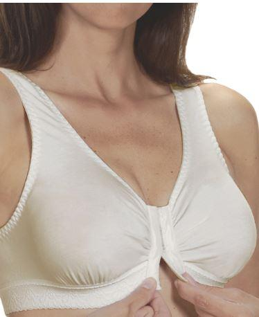 Bras - Front Closure Bras - Cotton Bras - Fits Cup B To Cup D