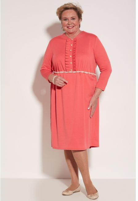 Dresses - Women's Amelie Dress - Pink Porcelain (size: From Medium To XXLarge)
