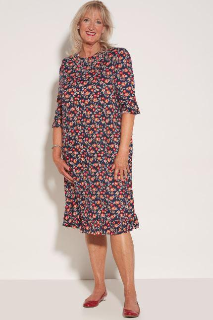Dresses - Women's Romei Dress - Wildflower (size: From Medium To XXLarge)