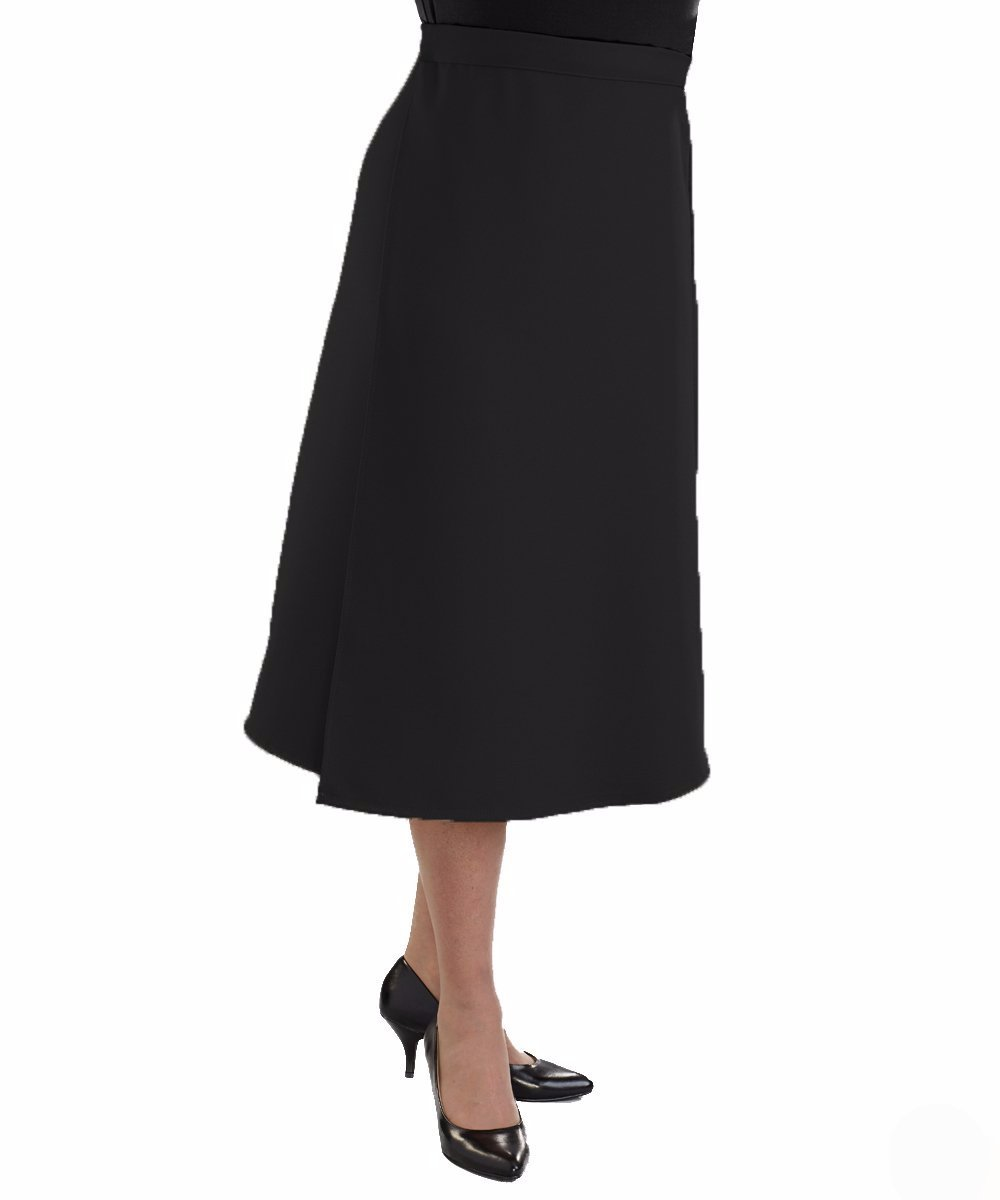 Dresses - Womens VELCRO® Wrap Skirts - Adaptive Arthritis Wrap Around Skirt With VELCRO® Brand Strap