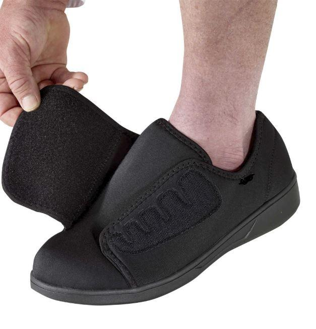 Footwear - Men's' Extra Wide Extra Deep Shoes - Slip Resistant Shoes - Lightweight Comfortable Shoes (size: From 8 - 11 Wide)