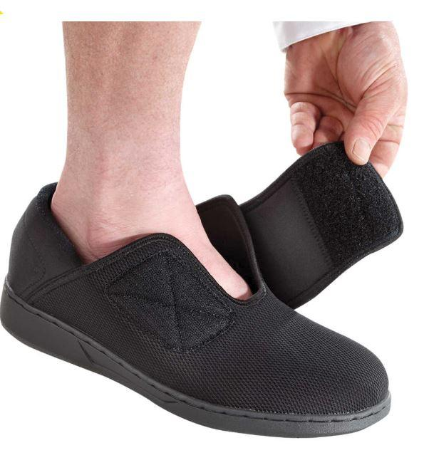 Footwear - Men's Extra Wide Shoes - Easy Touch Footwear For Swollen Feet (size From: 8 - 14)