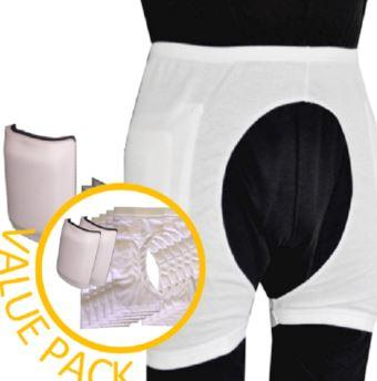 Hip Protectors - Women's Value Pack - (5) Access Pants And (1) Pad - Huge Savings!