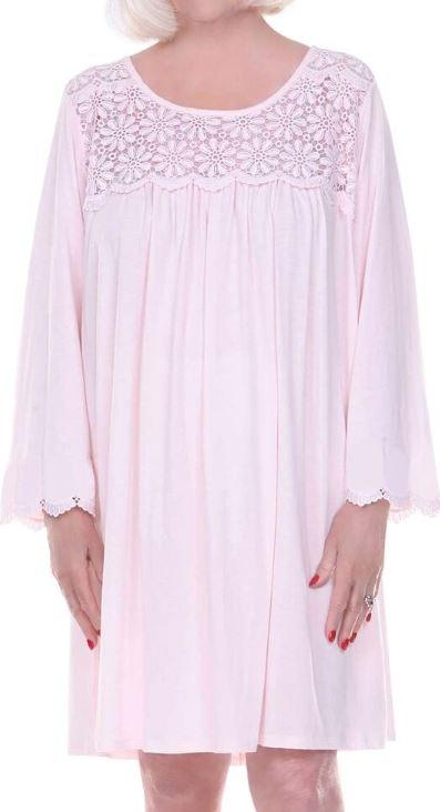 "Hospital Gown - ""Dignity Pajamas"" Womens Cotton Long Sleeve Open Back Nightgown(from Small To XLarge)"
