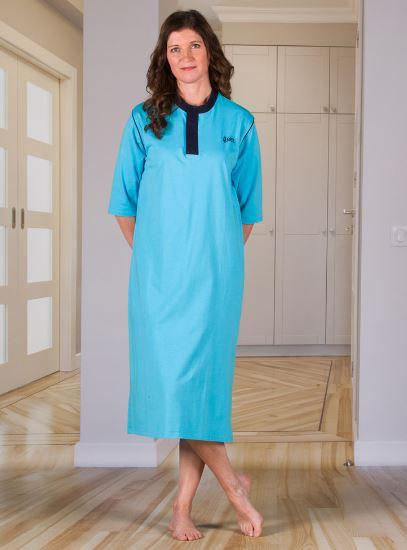Hospital Gown - Women's Nightshirt With An Open Back (Hospital Gown) (from Small To Xlarge)
