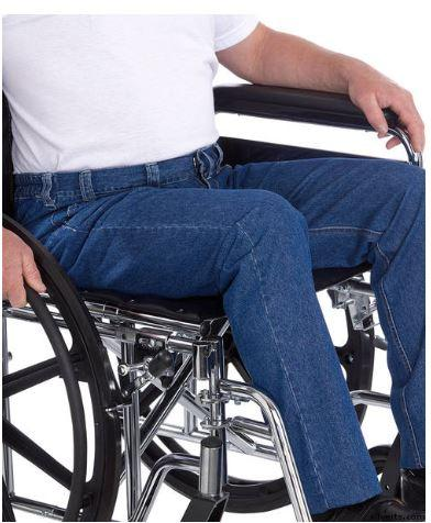 Men's Wheelchair Jeans - Quality Soft Denim For Wheelchair Fashion & Comfort