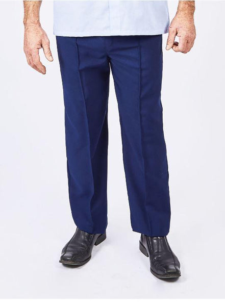 Pants - Men's Adaptive Elastic Waist Pants With Pockets And Decorative Zipper (size: From Small To 6XLarge)