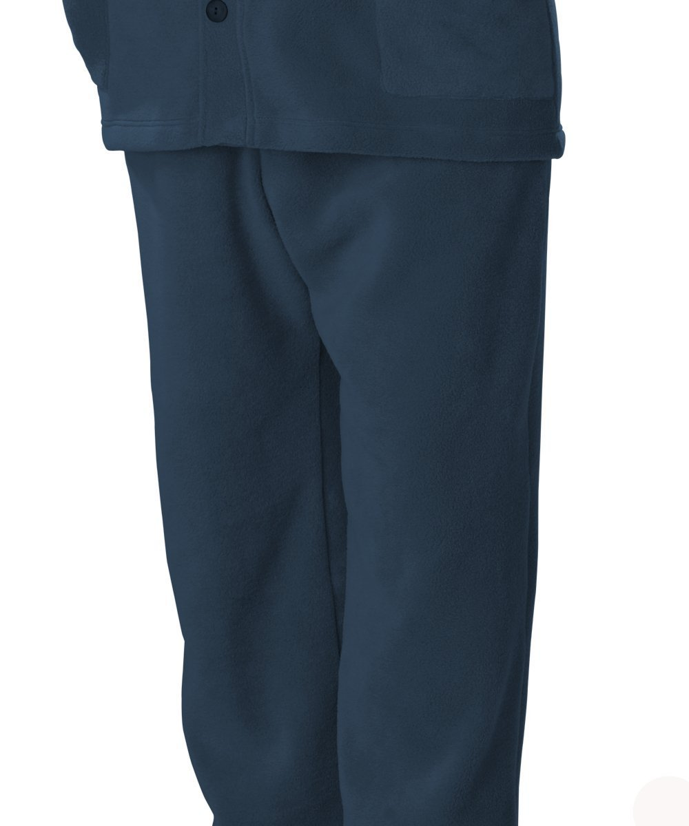Pants - Mens VELCRO® Polar Fleece Pants With VELCRO® Brand Straps - Best Arthritis Pants