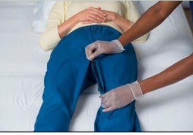 Pants - Pants - Fully Frontal Abdominal Access For A Faster, Easier, More Dignified Change Of An Adult Brief Or Wound Care.