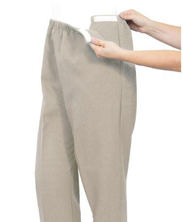 Pants - Plus Size: Women's Stretchy Knit Arthritis Pants - Easy Access Clothing (from 2Xlarge To 3XLarge)