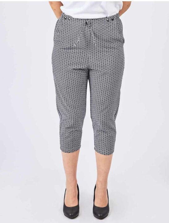Pants - Women's Adaptive Pants -  7/8 With Elastic Waist (size: From Small To XLarge)