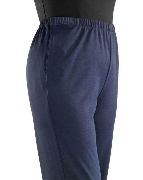 Pants - Women's Soft Knit Adaptive Wheelchair Users Pants - (size: From Small To 3XLarge)